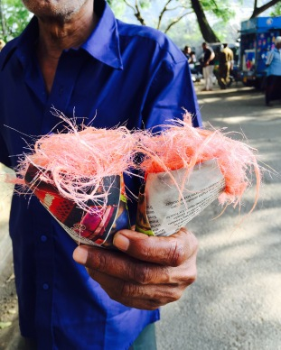 Bombai Mutai - Sri Lankan candy floss generally sold on the streets.