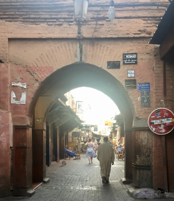 Arches of the medina.