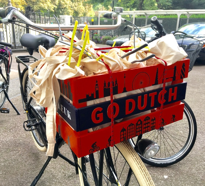Dutch Heritage Cycling Company Gazelle Arrives in London.