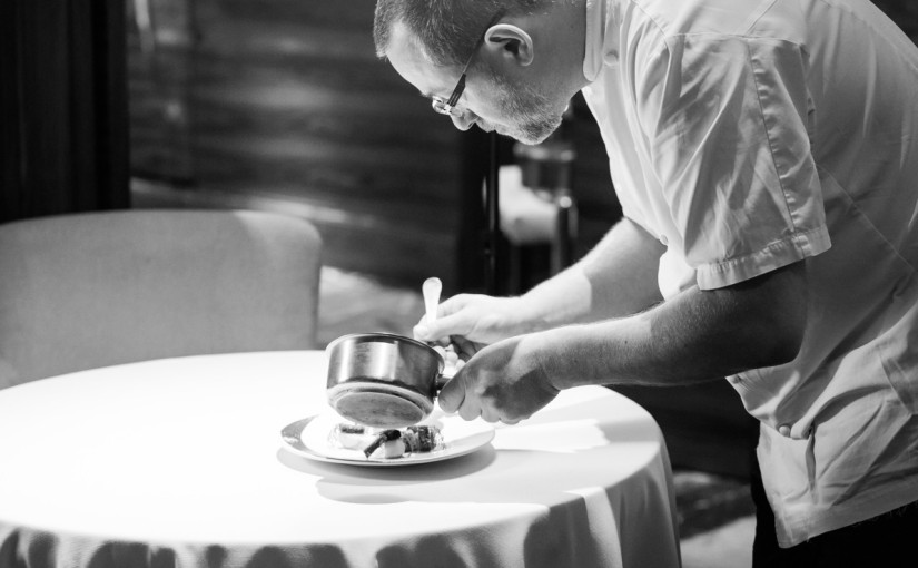 Alyn Williams at The Westbury:  Michelin-starred supper club