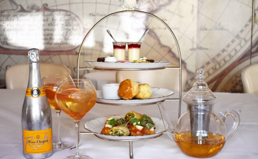 Mews of Mayfair Champagne infused afternoon tea ticks everybox