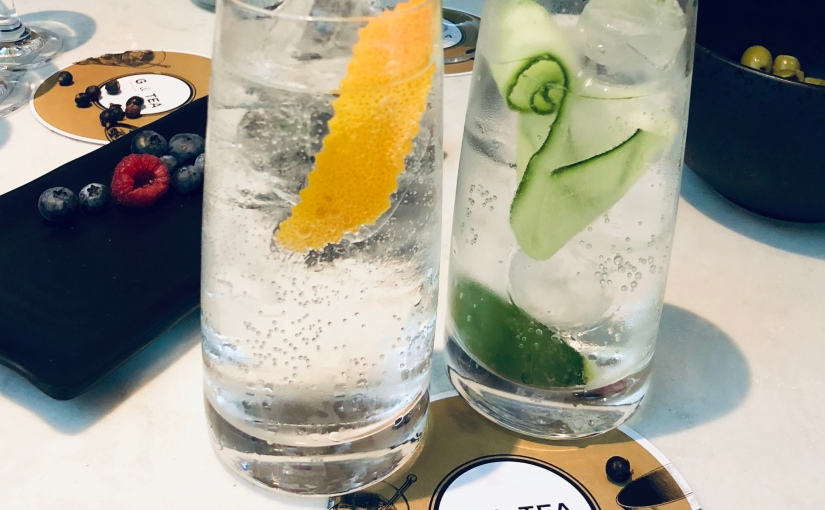 Gin and Tonic for London Girls – G & Tea Lounge Masterclass